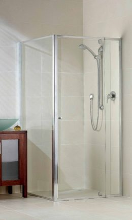Optima Magnetic Semi-Frameless Pivot Door