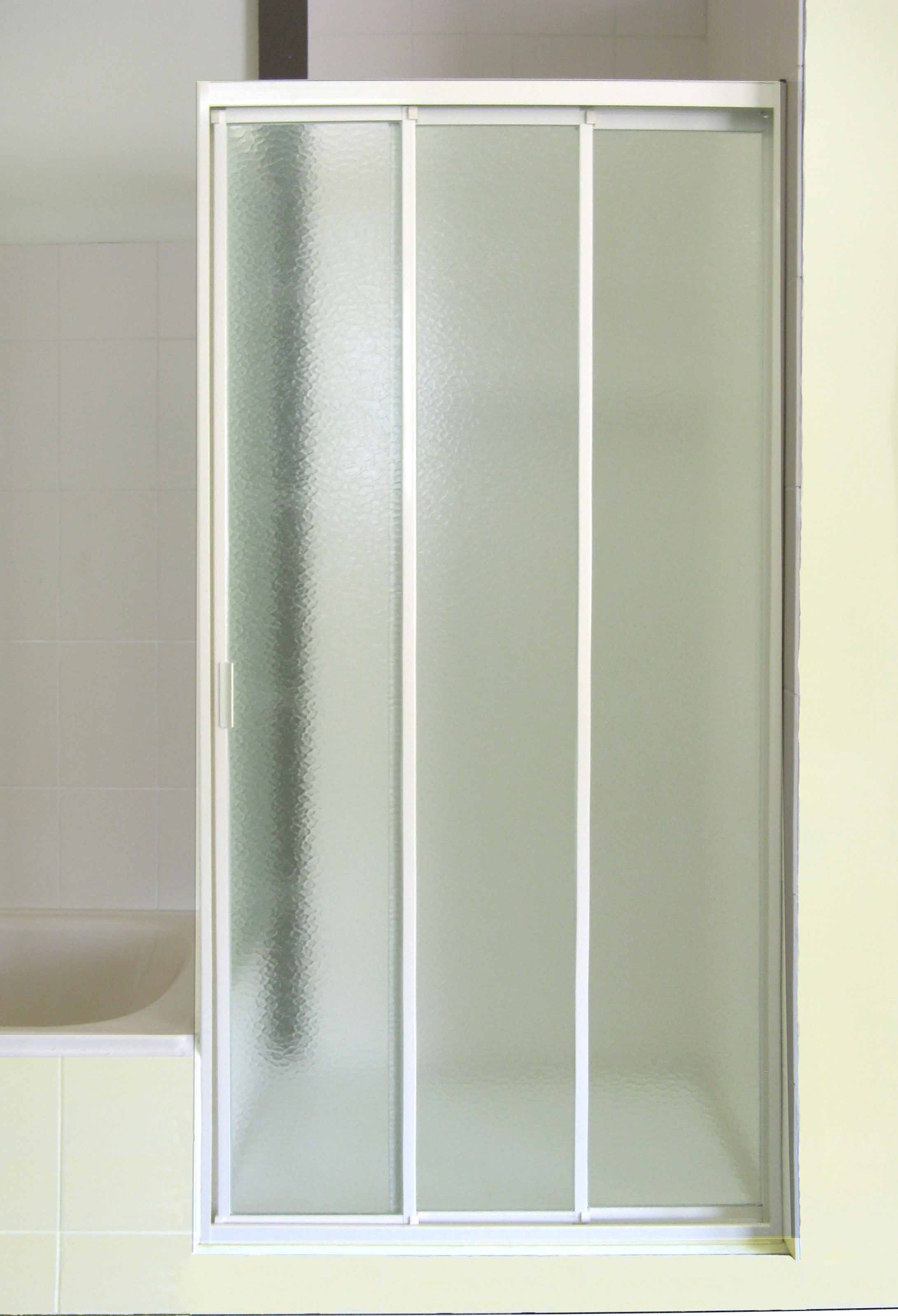 Cathedral slider speedy shower screens for Sliding screen door frame