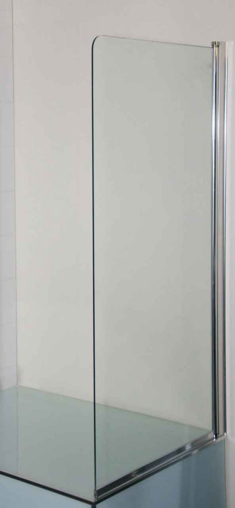 Frameless Fixed Panel Bath Screen